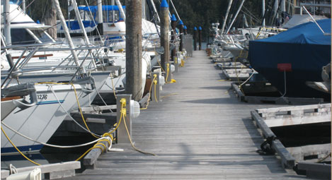 Ocean Marine Power Pedestals